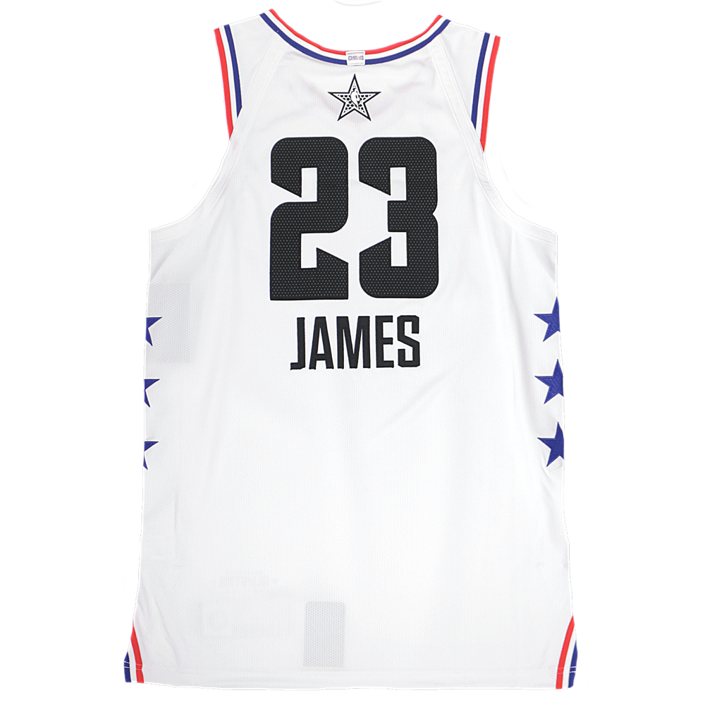 d65318f17 Jordan 2019 NBA All-Star Authentic Jersey - LeBron James - White ...