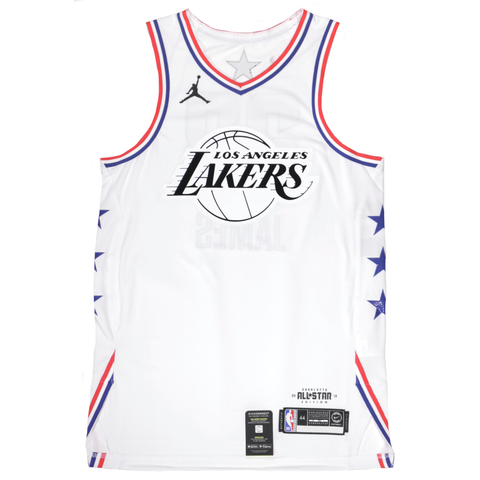 Jordan 2019 NBA All-Star Authentic Jersey - LeBron James - White