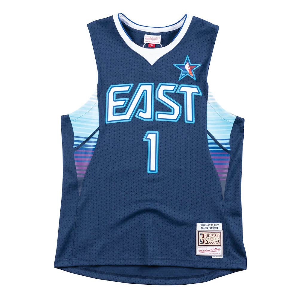 Allen Iverson 2009 NBA All-Star Jersey UK - Mitchell and Ness Swingman Jersey