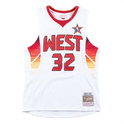 Mitchell & Ness Swingman 2009 NBA All-Star Jersey - West - Shaquille O'Neal - Medium or X Large