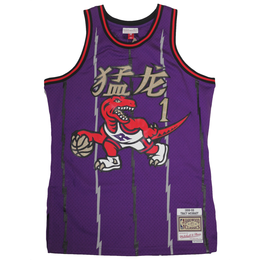 Toronto Raptors Tracy McGrady NBA Mitchell and Ness Jersey - Chinese New  Year Special Edition – Hardwood Ventures e771bb567