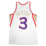 Philadelphia 76ers Allen Iverson NBA Mitchell and Ness Jersey - Chinese New Year