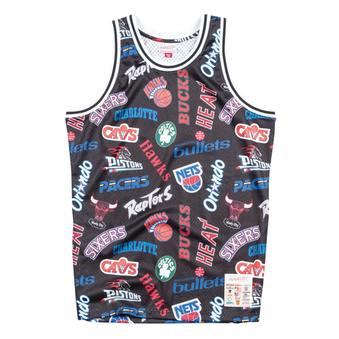 Mitchell & Ness All-Over Eastern Conference Swingman Jersey - Large Only