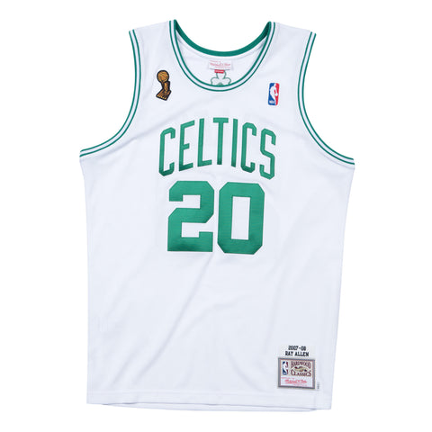 Mitchell & Ness Authentic NBA Jersey - Boston Celtics - Ray Allen - 2008 Finals - XL Only