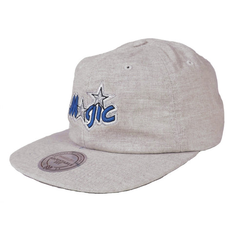 Mitchell & Ness Cotton Melange Clip Strapback - Orlando Magic