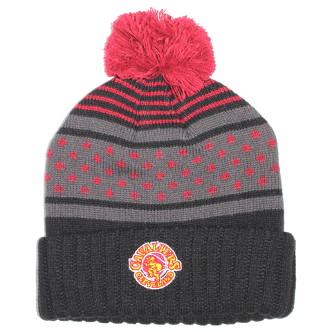 Mitchell & Ness Highlands 2.0 Pom Knit - Cleveland Cavaliers