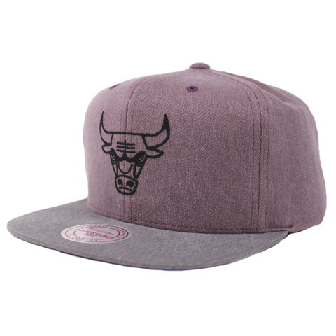 Mitchell & Ness Washed Twill 2Tone Snapback - Chicago Bulls
