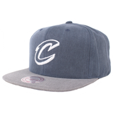 Mitchell & Ness Washed Twill 2Tone Snapback - Cleveland Cavaliers