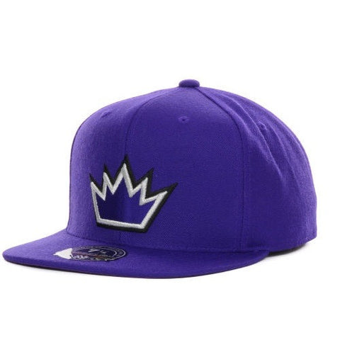 Mitchell & Ness Wool Solid 2 Sacramento Kings Snapback