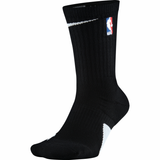 Nike NBA Elite Basketball Crew Socks - Black - Small Only