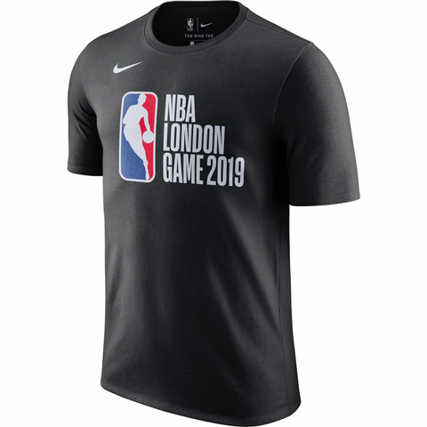 Nike 2019 NBA London Game Logo T-Shirt - Black