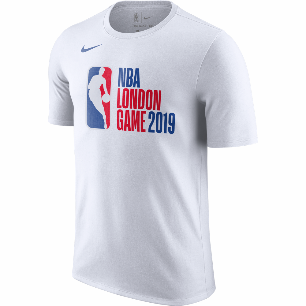 Nike 2019 NBA London Game Logo T-Shirt - White