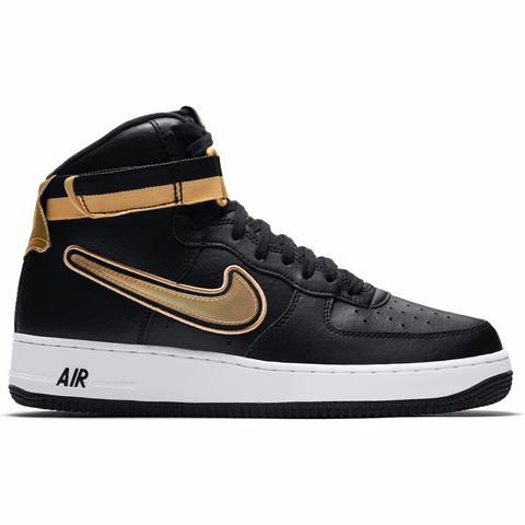Nike NBA Air Force 1 High '07 LV8 Sport - Black / Gold