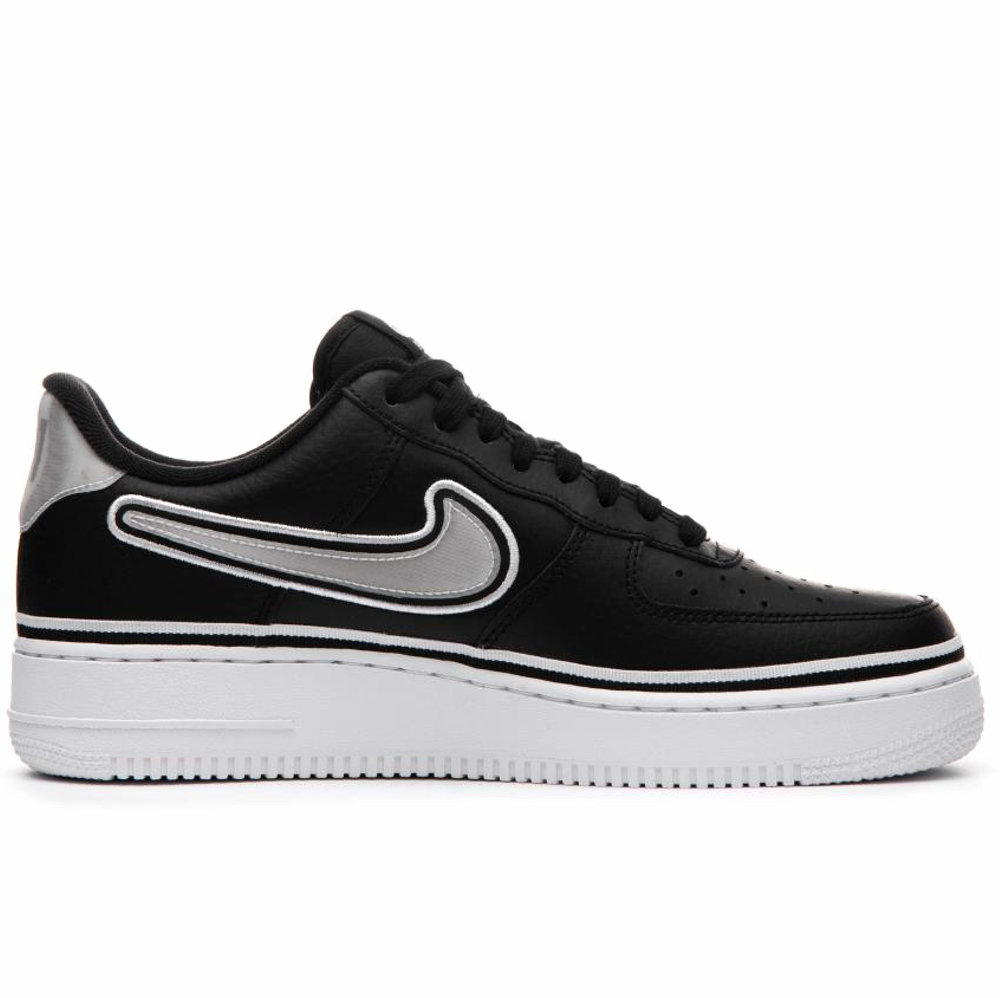 new concept 80276 b5385 Nike Air Force 1 Low 07 LV8 Sport - Black  White - Brooklyn Nets –  Hardwood Ventures