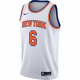 Kristaps Porzingis White Knicks Jersey UK - Nike New York Knicks NBA Association Swingman Jersey UK
