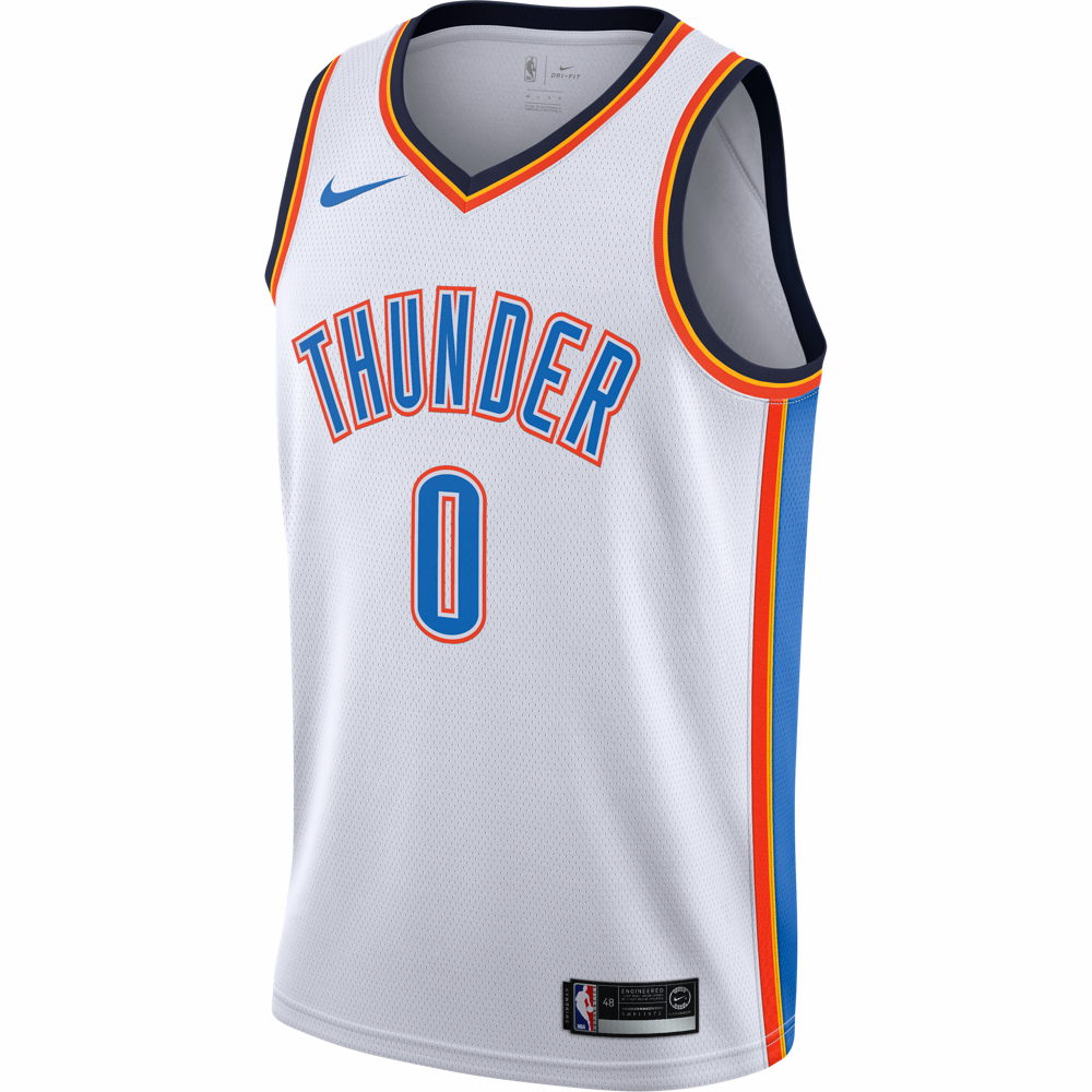 0d732d2b0 Nike Association Swingman NBA Jersey - Oklahoma City Thunder - Russell  Westbrook
