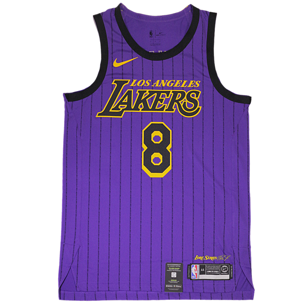 5d26b036d Kobe Bryant Authentic Nike NBA Jersey Number 8- Nike City Edition Jersey LA  Lakers – Hardwood Ventures