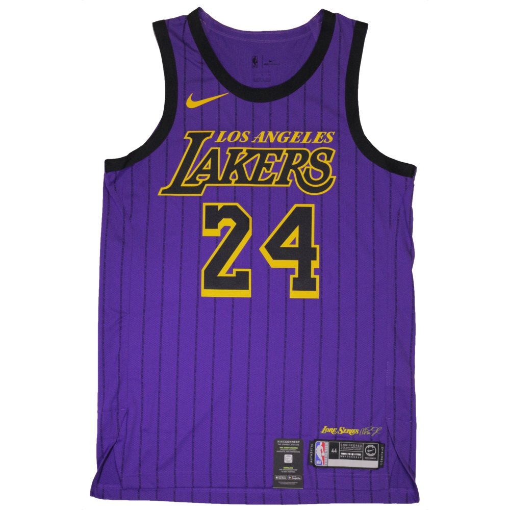 d161a1e67 Kobe Bryant Authentic Nike NBA Jersey Number 24 - Nike City Edition Jersey  LA Lakers – Hardwood Ventures