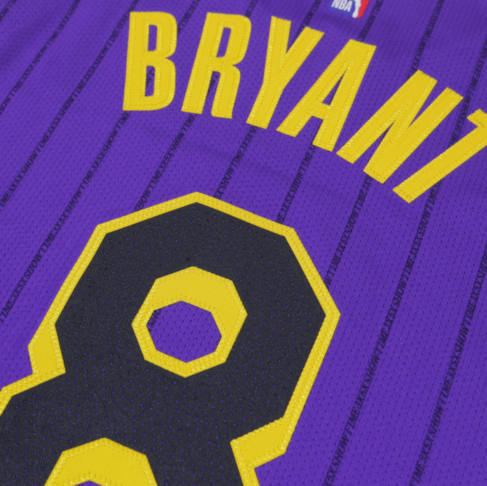 507724a9b Kobe Bryant Authentic Nike NBA Jersey Number 8- Nike City Edition ...