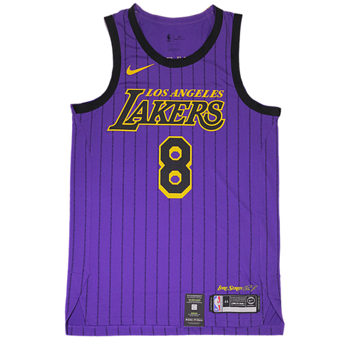 Nike City Authentic NBA Jersey - LA Lakers - Kobe Bryant No. 8 - Small or Large