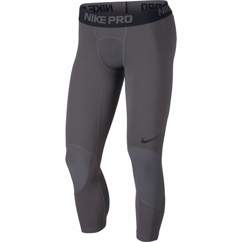 Nike Pro 3/4 Length Basketball Tights - Dark Grey