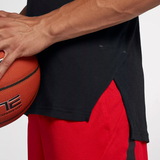 Nike Breathe Elite Short Sleeve Basketball Top - Black