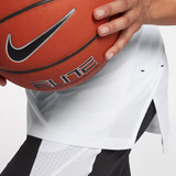 Nike Breathe Elite Short Sleeve Basketball Top - White