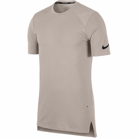Nike Breathe Elite Short Sleeve Basketball Top - Moon Particle