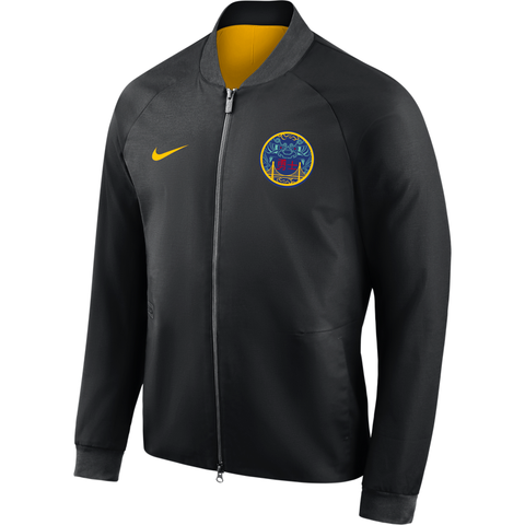 Nike NBA City Modern Varsity Jacket - Golden State Warriors - Large Only