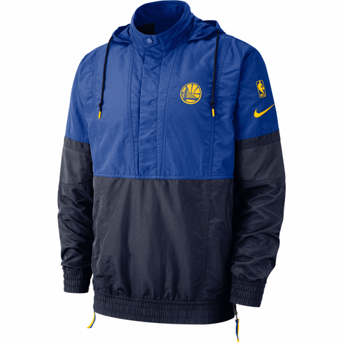 Nike Courtside NBA Hooded Jacket - Golden State Warriors