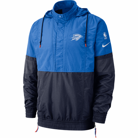 Nike Courtside NBA Hooded Jacket - Oklahoma City Thunder