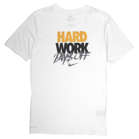 Nike Hard Work Dri-FIT T-Shirt - White