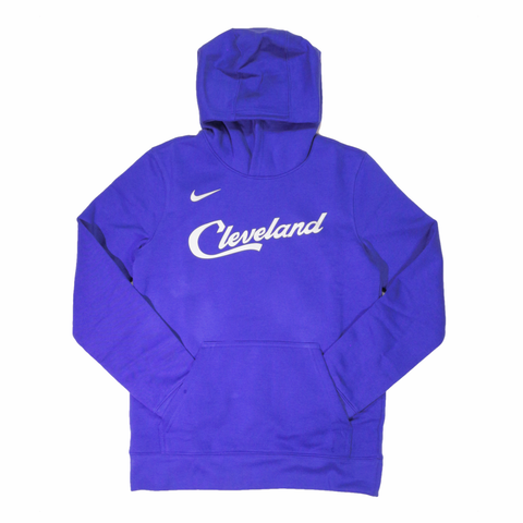 Nike NBA Youth City Edition Logo Hoodie - Cleveland Cavaliers