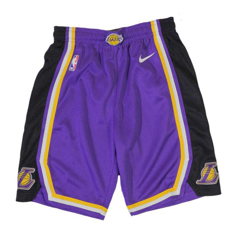 Nike Youth Statement Swingman NBA Shorts - LA Lakers