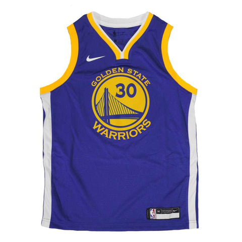 Nike Youth Icon Swingman NBA Jersey - Golden State Warriors - Steph Curry
