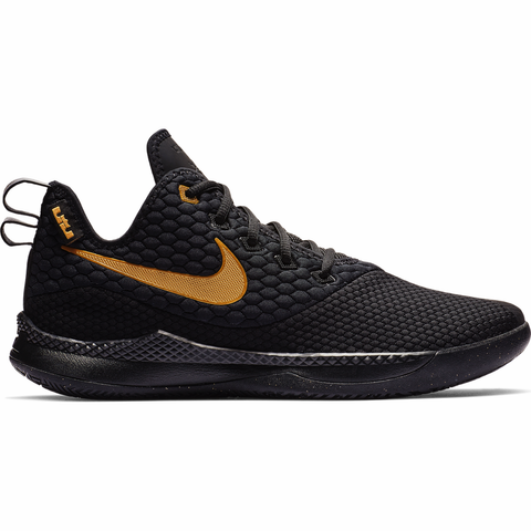 Nike LeBron Witness III - Black / Gold