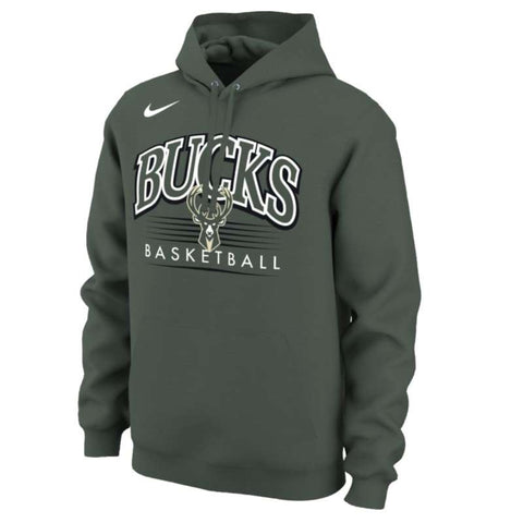 Nike NBA Crest Hoodie - Milwaukee Bucks