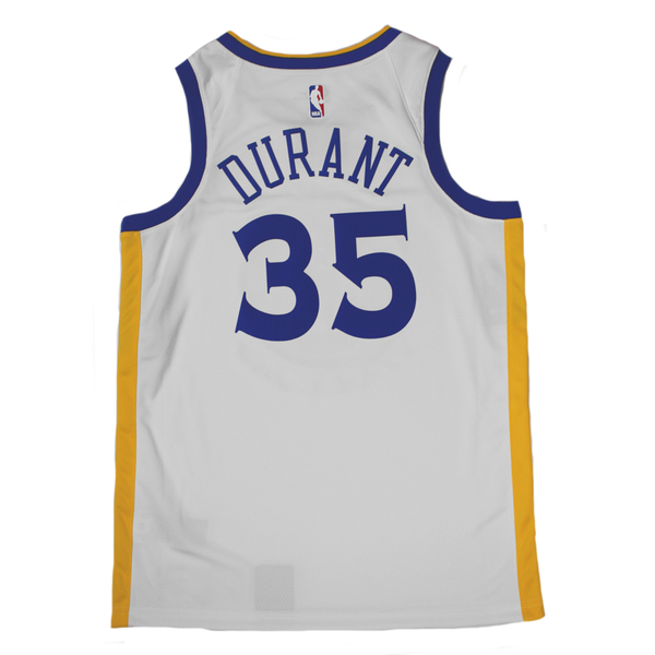 Kevin Durant Golden State Warriors Jersey UK - Nike NBA Association  Swingman Jersey UK – Hardwood Ventures