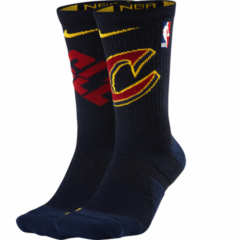 Nike Elite NBA Basketball Socks - Cleveland Cavaliers