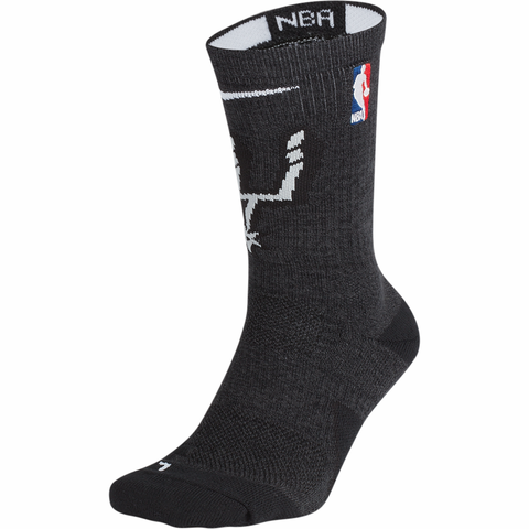 Nike Elite NBA Basketball Socks - San Antonio Spurs