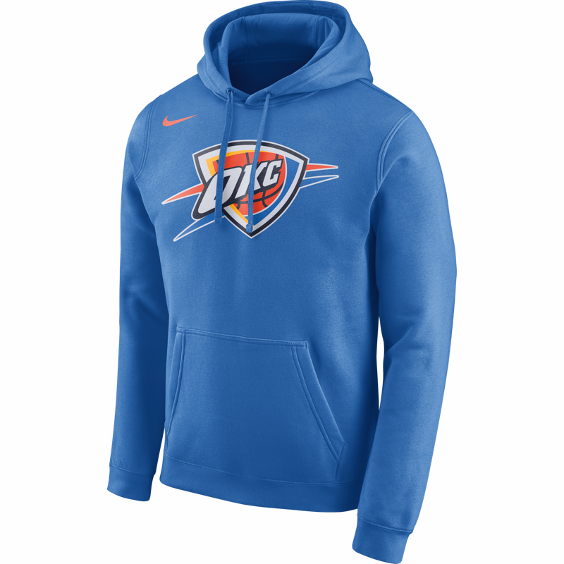 Nike NBA Logo Hoodie - Oklahoma City Thunder - Small Only – Hardwood  Ventures aade99cd1c76