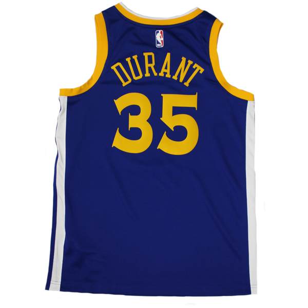 Kevin Durant Golden State Warriors Jersey UK - Nike NBA Icon Swingman Jersey  UK – Hardwood Ventures