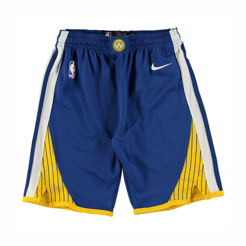 Nike Kids Icon Swingman NBA Shorts - Golden State Warriors