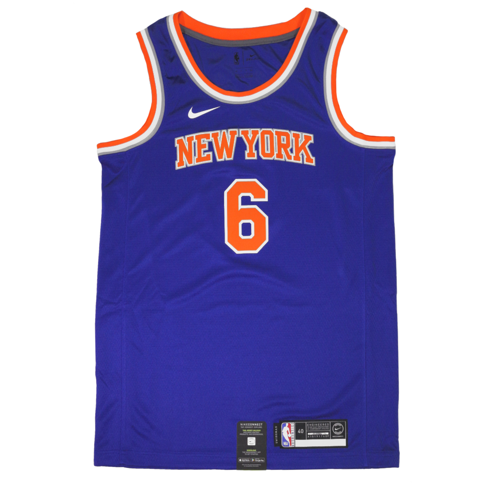 Porzingis New York Knicks Jersey UK - Nike Knicks NBA Icon Swingman Jersey  UK – Hardwood Ventures 34b97a82c
