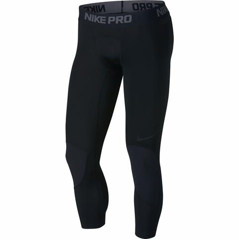 Nike Pro 3/4 Length Basketball Tights - Black