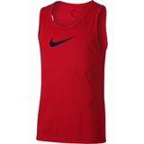 Nike Dri-FIT Sleeveless Basketball Top - University Red
