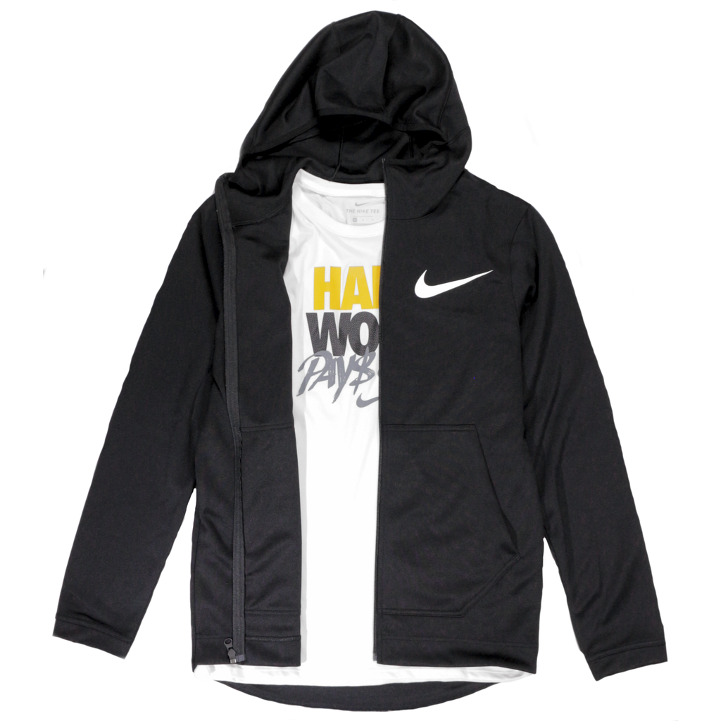b517c36be2 Nike Spotlight Full-Zip Basketball Hoodie - Black – Hardwood Ventures