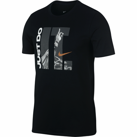 Nike Team Just Do It Dri-FIT T-Shirt - Black