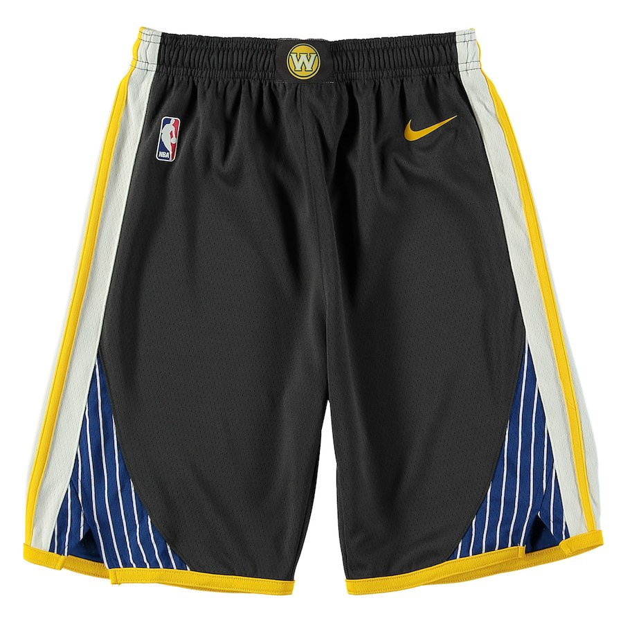 Nike Kids Statement Swingman NBA Shorts - Golden State Warriors
