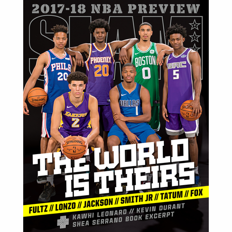 SLAM Magazine - Issue 212 - 2017-18 NBA / NCAA Preview